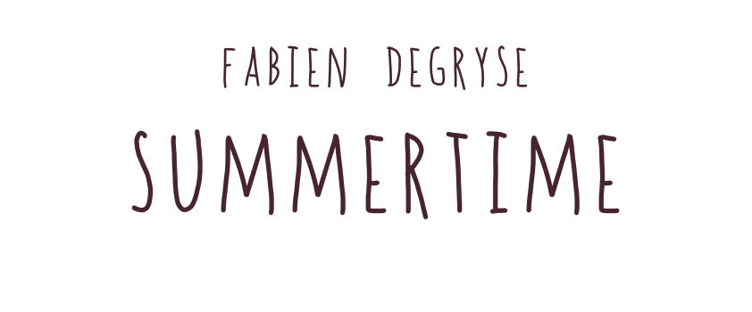 Fabien Degryse CD Summertime